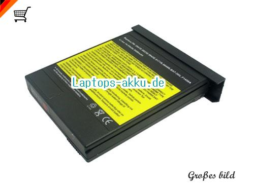 DELL 0007043C Akku 6600mAh 14.4V Black Li-ion