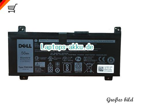 DELL 063k70 Akku 3500mAh, 56Ah 15.2V Black Li-ion