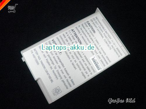 ACCEL AccelNote 8170 Battery 6600mAh 11.1V Grey Li-ion