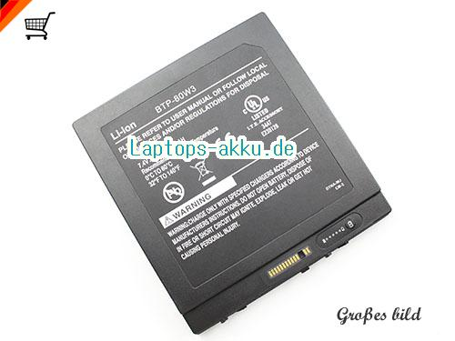 XPLORE iX104RD tablet PC Battery 7600mAh, 56.24Wh  7.4V Black Li-ion