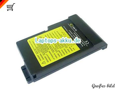 IBM 02K6536 Akku 6600mAh 10.8V Black Li-ion