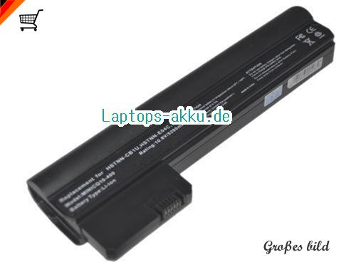HP 06TY Akku 5200mAh 10.8V Black Li-ion