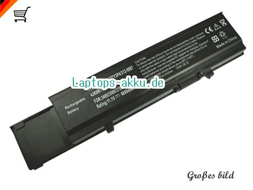DELL 04D3C Akku 6600mAh 11.1V Black Li-ion