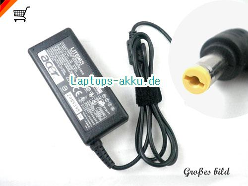 ACER 177626-001 adapter, 19V 3.42A 177626-001 Notebook Netzteile, ACER19V3.42A65W-5.5x1.7mm-RIGHT-ANGEL